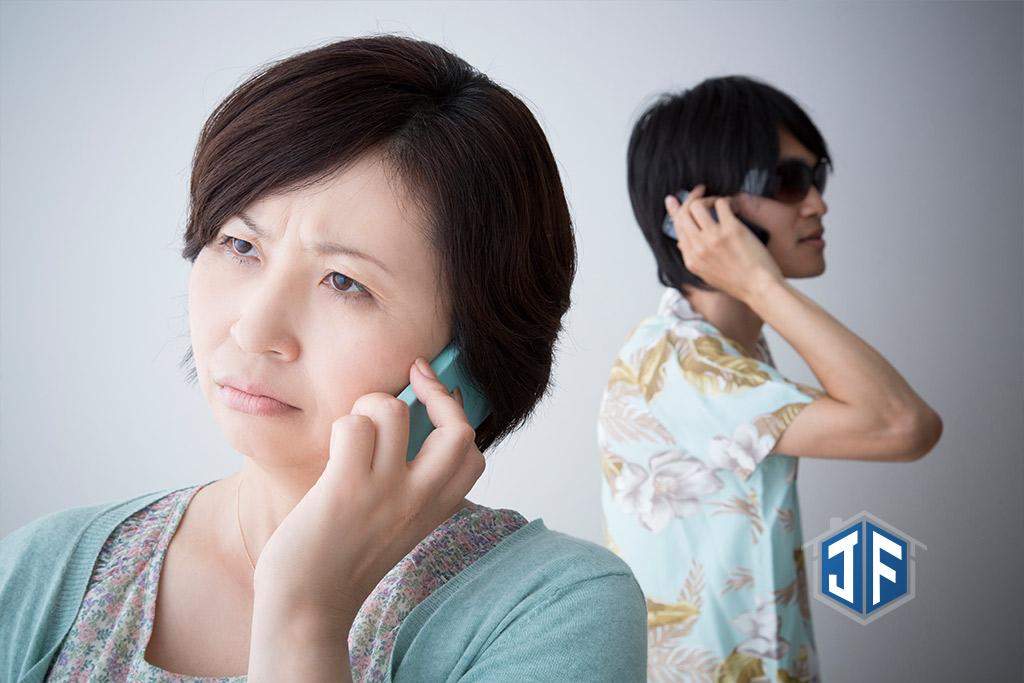 婦女被次級房貸業者電話詐騙的情形